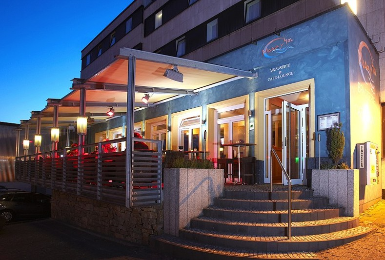 Hotel Stadt Daun Cafe Maar Y Sol Daun